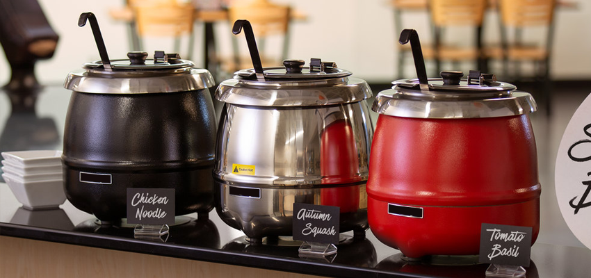 How to use, clean and maintain a hot soup kettle?