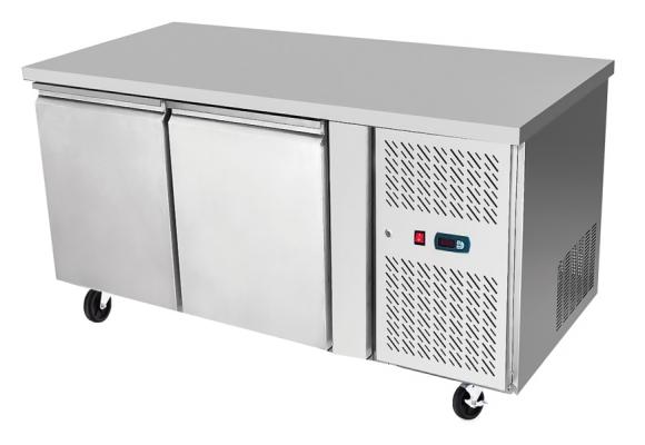 Underbench Two Door Freezer Table 1360 mm