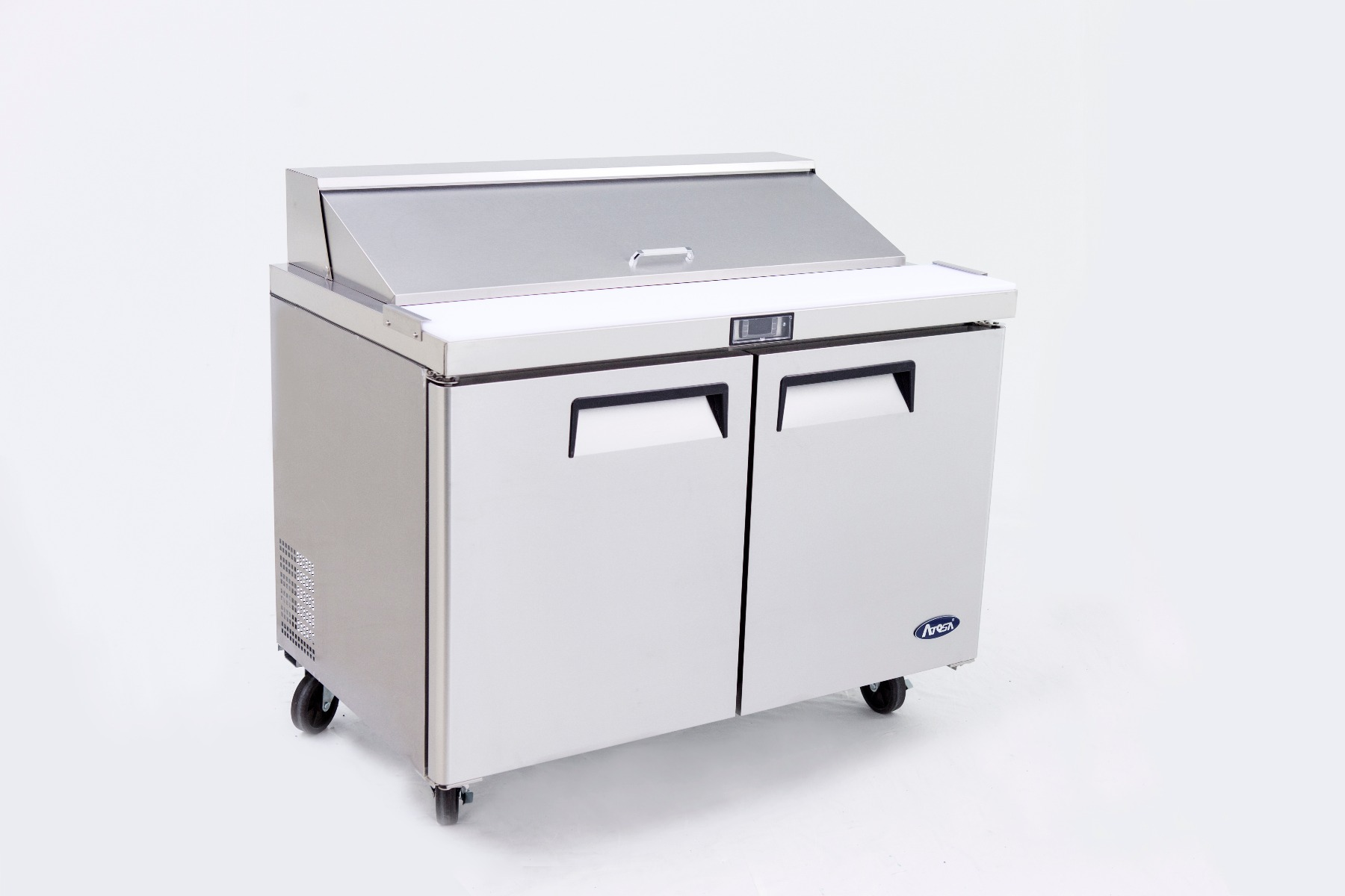 2 Door Sandwich Prep Table Refrigerator 1225 mm