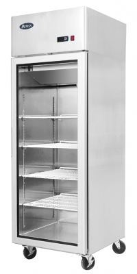 Top Mounted 1 Door Fridge Showcase 730 mm