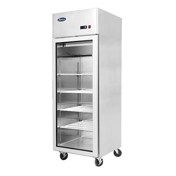 Top Mounted 1 Door Freezer Showcase 730 mm