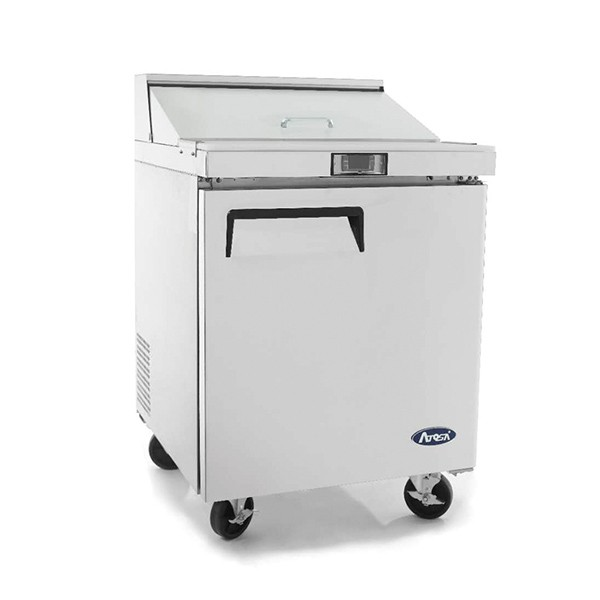 1 Door Sandwich Prep Table Refrigerator 698 mm