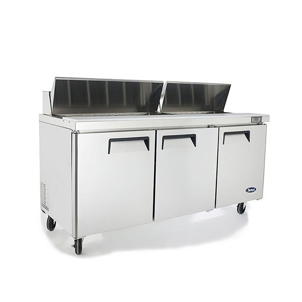 3 Door Sandwich Prep Table Refrigerator 1846 mm