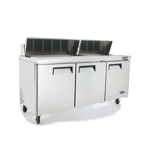 3 Door Sandwich Prep Table Refrigerator 1846 mm