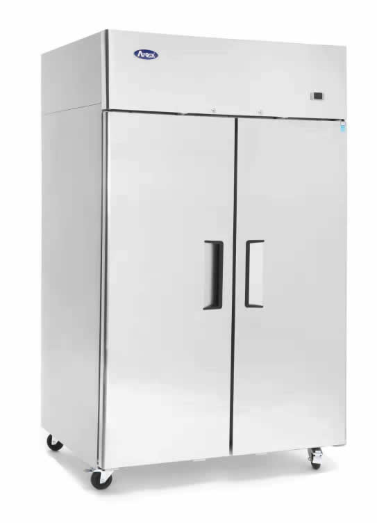 Double Door Top Mounted Fridge and Freezer